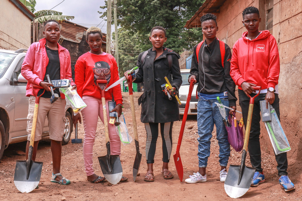 Empower 70 Kibera Youth to Become Self-Sufficient