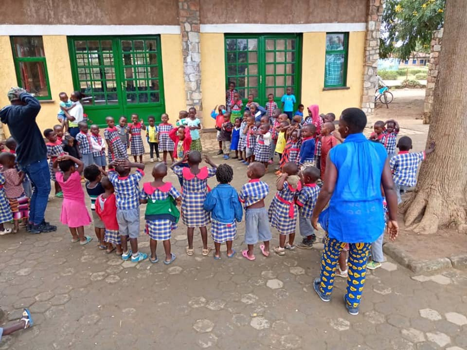 Build & Equip ECD center for 250 children, Rwanda.
