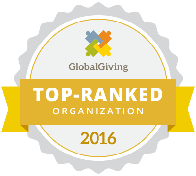 GlobalGiving Top-Ranked Organization 1008