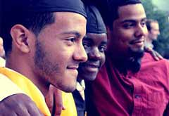 Boys Graduating