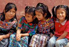 Children with Colorful Clothes