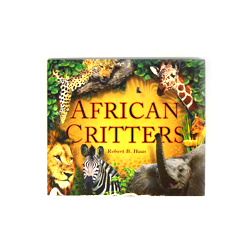 Help save the Cheetah with a gift of $50 or more and receive African Critters Book