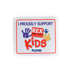 "For a $125 or more donation you will receive an ""I Proudly Support KEX Kids Fund"" Mouse Pad"
