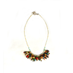 Donate $75 and protect 7 school children from malaria AND get a charming Lion's Mane Necklace for free!