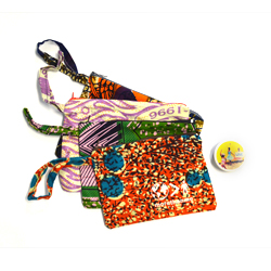 Gets you a Lavendar Love solid perfume fragance in a zipper pouch made with love by our More than Me moms