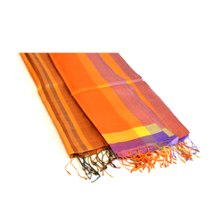 Give $120 and receive a handwoven silk scarf from Cambodia