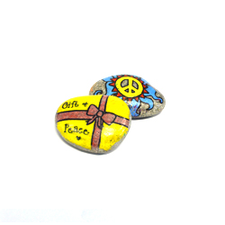 Sponsor a Child Peace Advocate to Stay in School in the Philippines and receive a hand-painted Peace Rock!