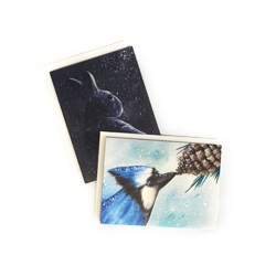 Provide a safe haven for an injured wild creature and receive two unique cards to use or to give!