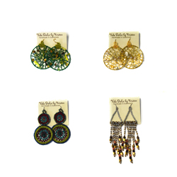 Provide school meals and receive a pair of hand-beaded earrings for free