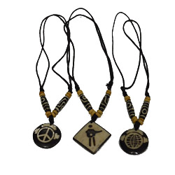 Support music classes for kids in Nepal and receive a hand-carved Yak Bone necklace!
