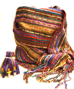 Gift food and fruit for the rest of the school year to a malnourished child in Guatemala and receive a scarf as a thank you