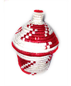 Gives a grandmother of HIV/AIDS orphans a goat and gets you a handmade basket for free
