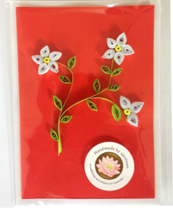 Support aftercare for Cambodian victims of rape and trafficking and receive a handmade card from a survivor