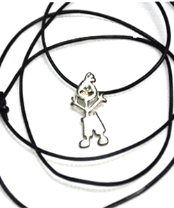 Enables one women to generate income and receive a necklace for free with the institution mascote