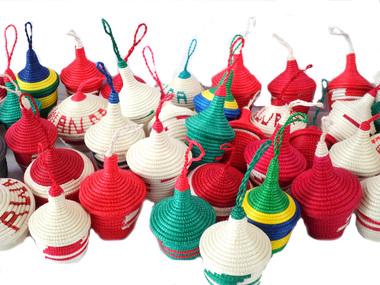 Hand-woven Exotic Rwandan Gift Baskets