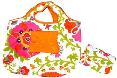 A $50 donation gets you a Compact Tote Bag made by women in Honduras!