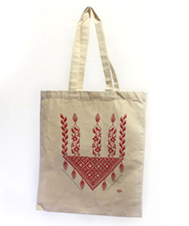 Help deliver baby care supplies to refugees from Syria and get a lovely screen-printed canvas tote-bag as a free gift