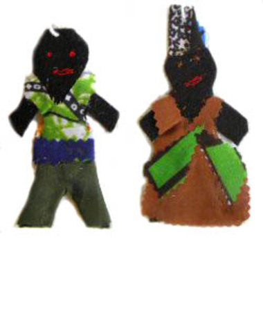 Help a child in Kenya and receive two unique felt children