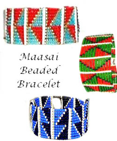 Sponsor a pastoralist girl in school and receive a beautiful Maasai Beaded Bracelet