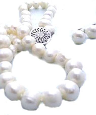 A $75 donation to help mothers birth safely gets you a set of Freshwater Pearls from the Philippines!