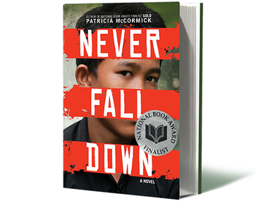 A $100 donation towards our scholarship program gets you a copy of Never Fall Down signed by Arn Chorn Pond