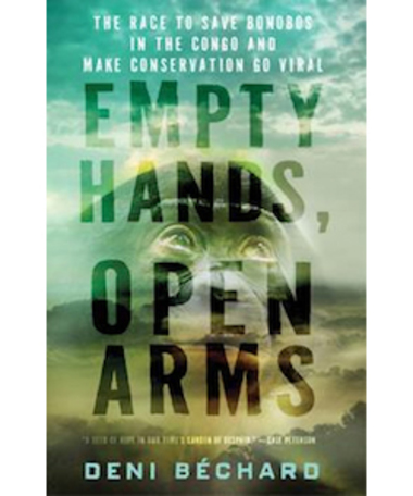 "Protect endangered bonobos and receive a free hardcover copy of ""Empty Hands, Open Arms""!"
