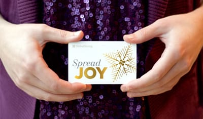 Spready Joy with GlobalGiving Gift Cards