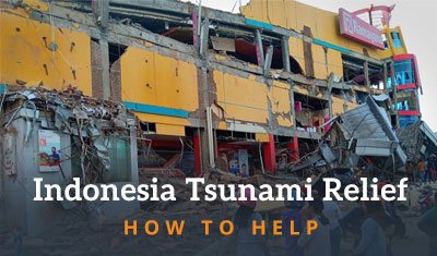 Indonesia Tsunami - How You Can Help