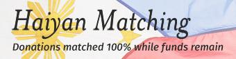 Haiyan Matching 2015
