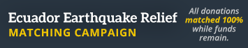 2016 Ecuador Earthquake Matching Campaign