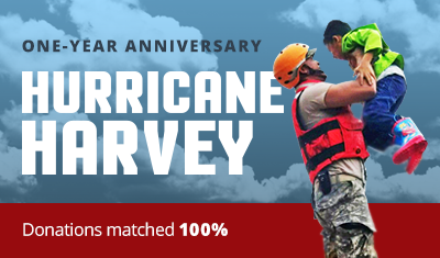 Hurricane Harvey One-Year Anniversary Campaign