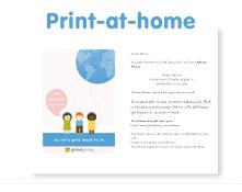 Print at home