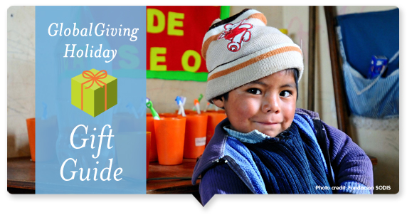 GlobalGiving Holiday Gift Guide