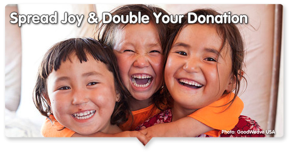 Spread Joy & Double Your Donation