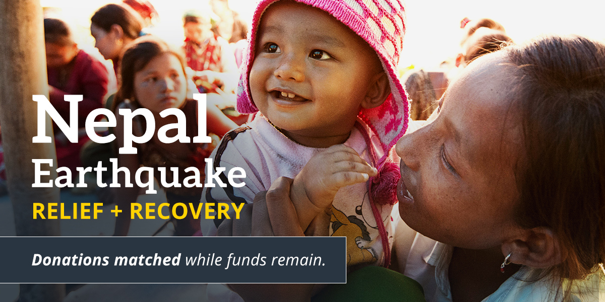 Nepal Earthquake Relief + Recovery