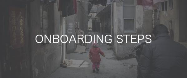 Onboarding Steps