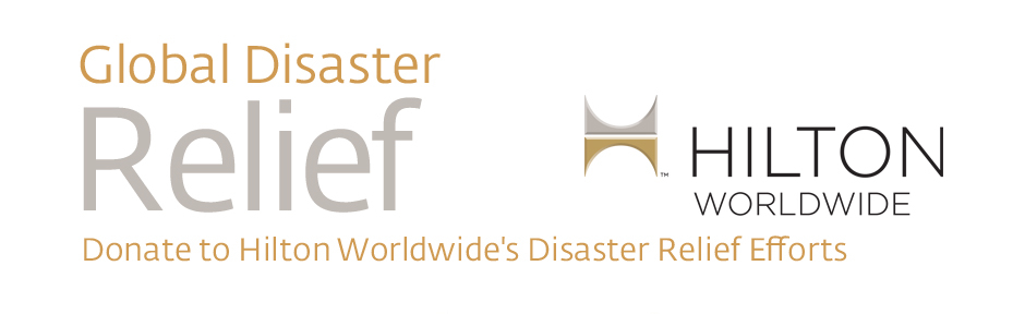 Donate to Hilton Worldwide's Disaster Relief Efforts