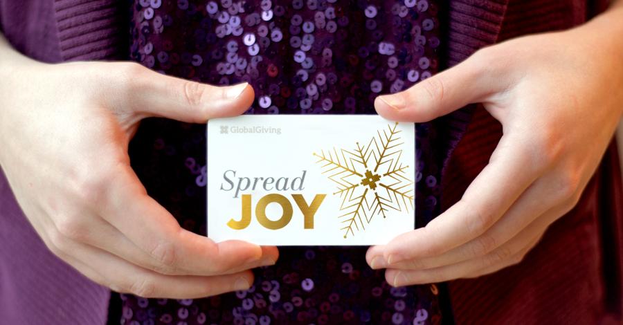 Gift Card Spread Joy