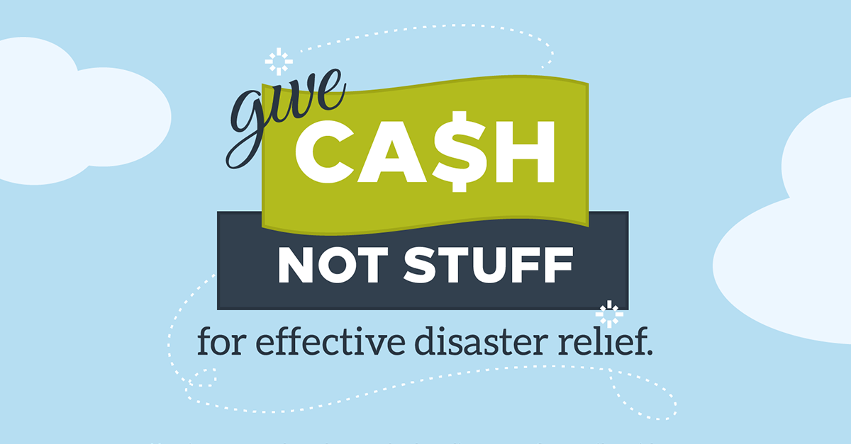 INFOGRAPHIC: How To Help After A Disaster