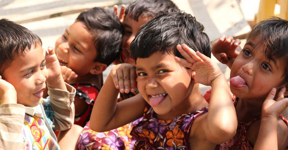Laughing Children JAAGO Foundation