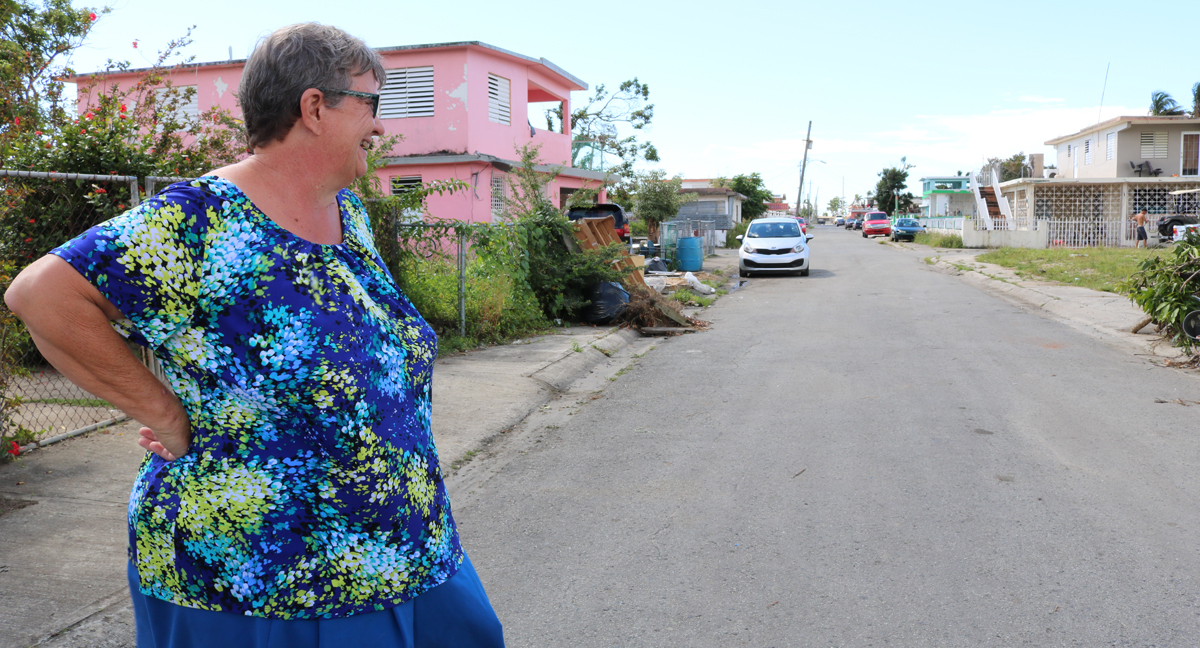 Life in one town six months after Maria