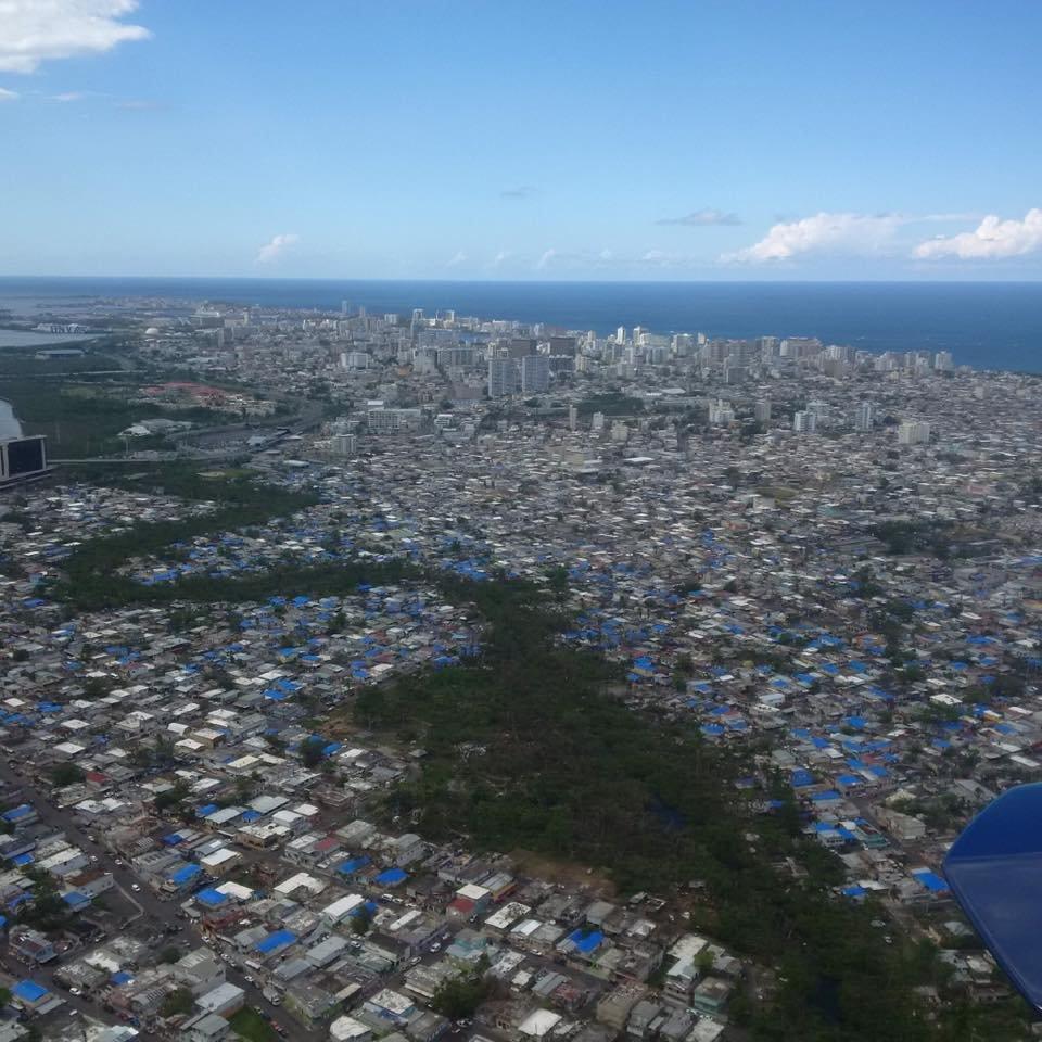 Puerto Rico Recovery | Blue Tarps