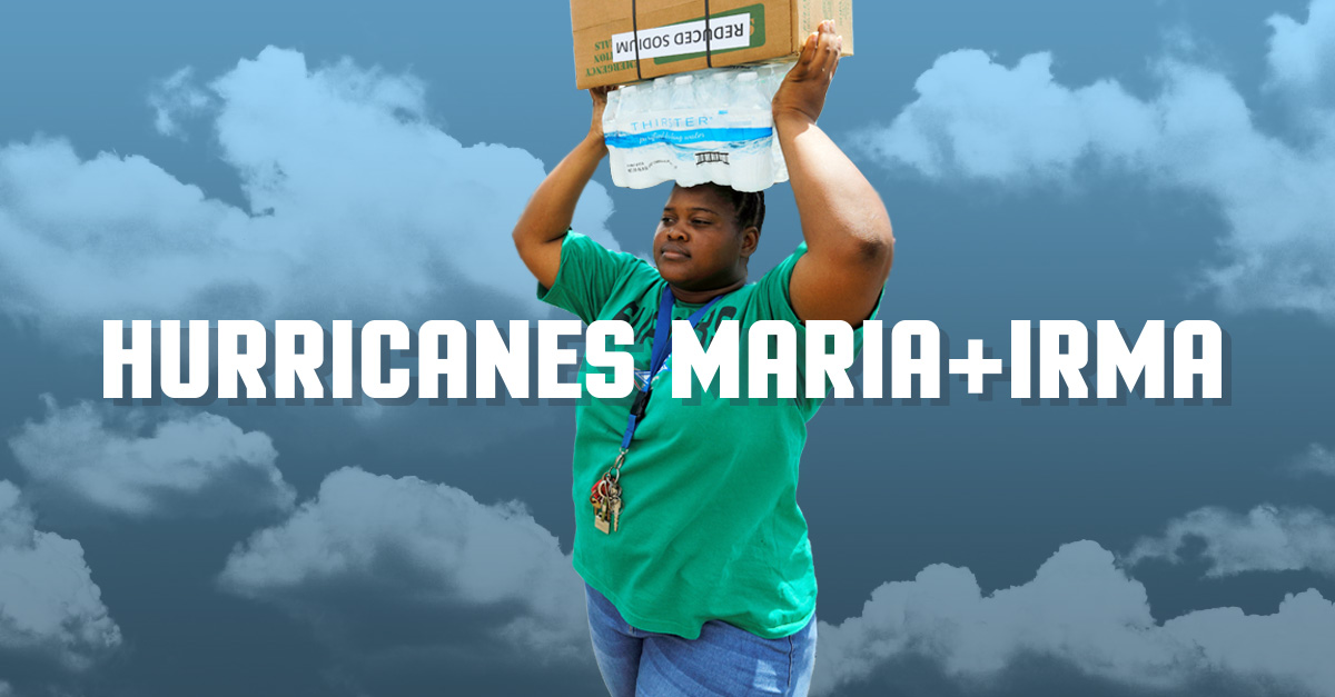 Double Your Impact On Hurricane Irma + Maria Anniversaries