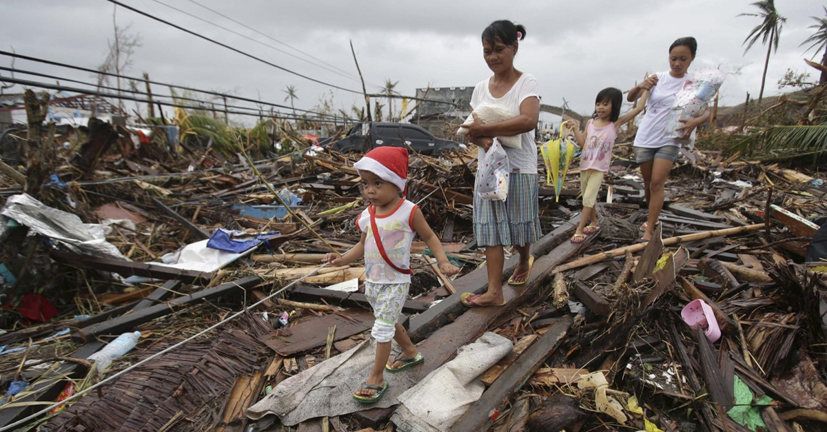 Help disaster survivors over holidays