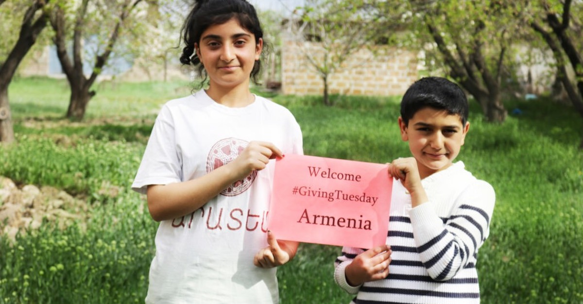 #GivingTuesday Armenia