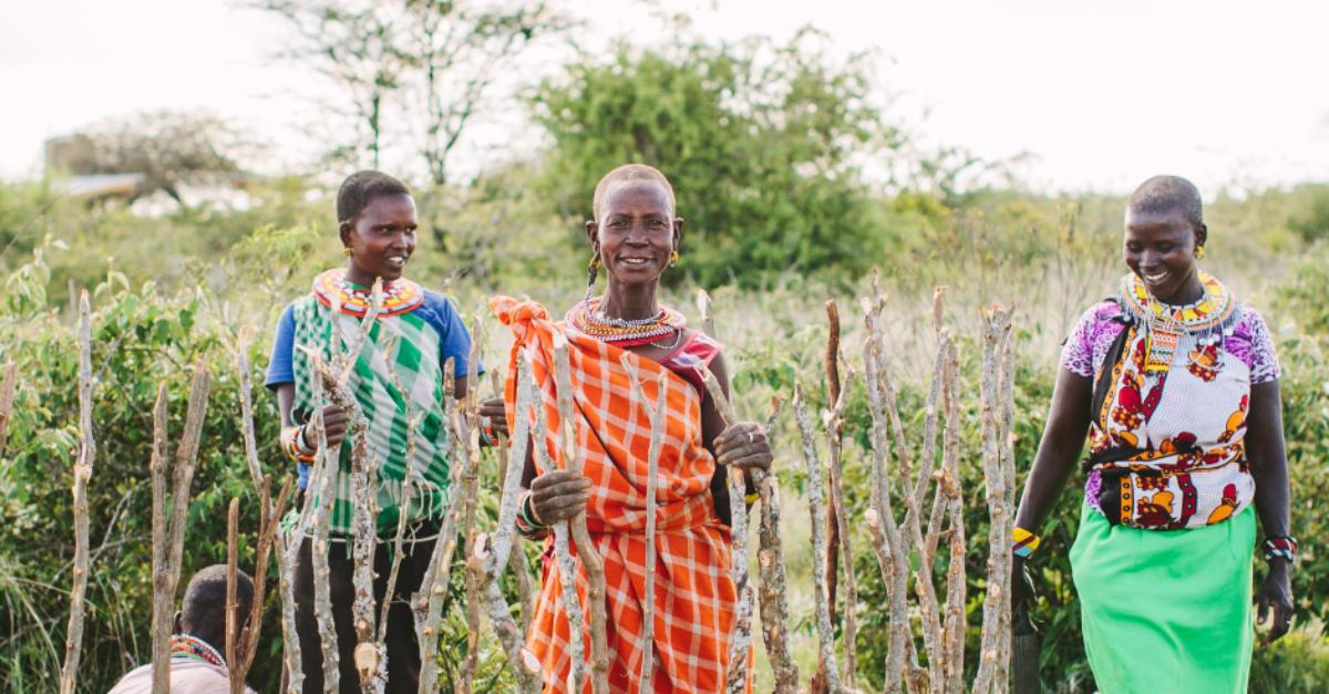 Climate change champions Sadhana Forest Kenya