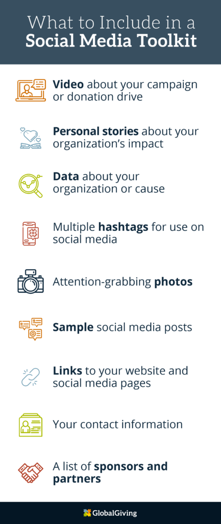What to include in a social media toolkit