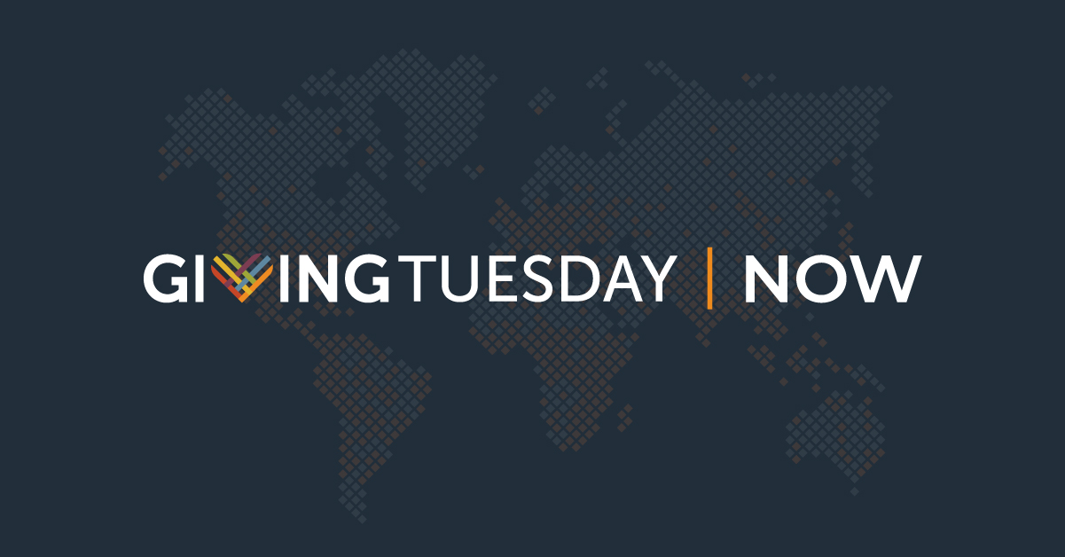#givingtuesdaynow graphic