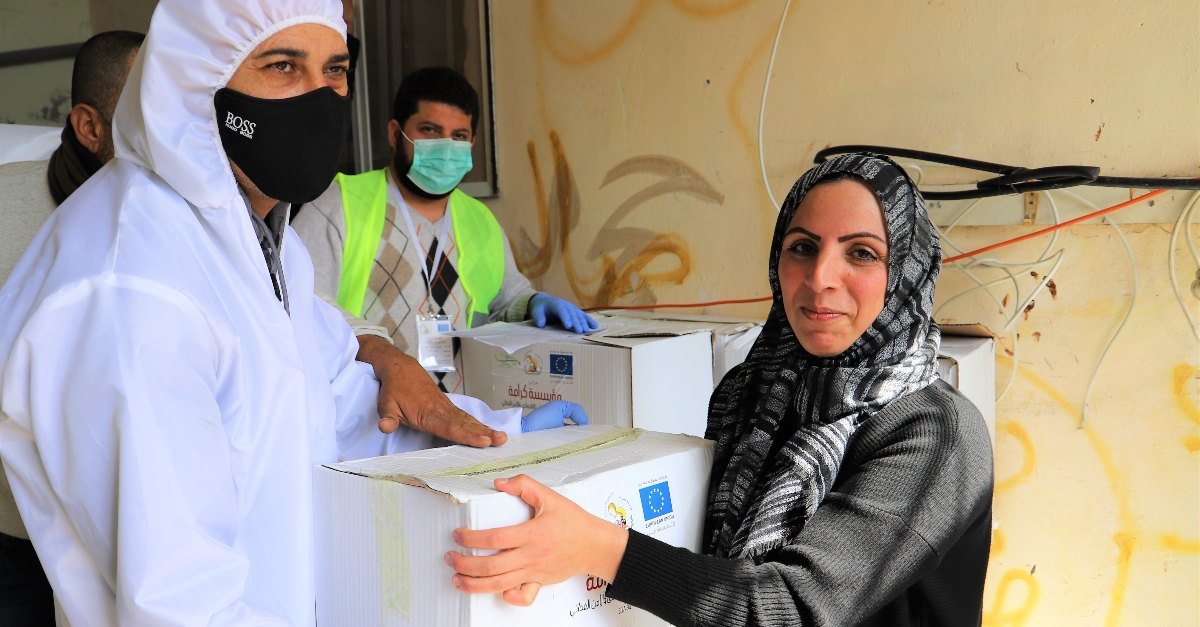companies support refugees during COVID