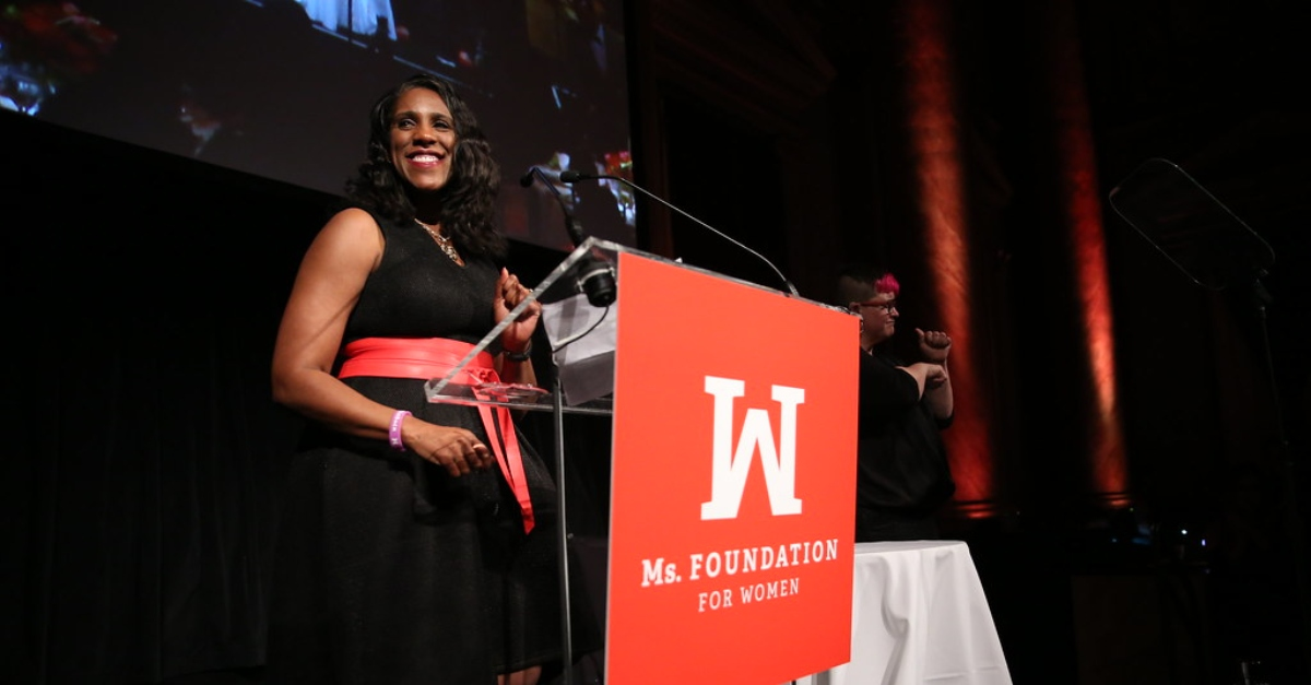 Teresa C. Younger at a Ms. Foundation For Women event | Support Black women